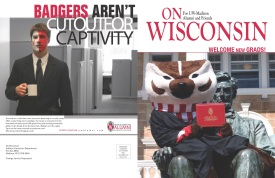 On Wisconsin Magazine cover wrap