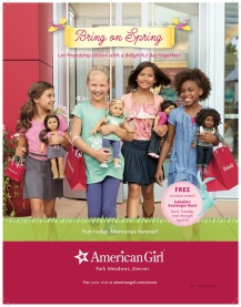 American Girl Store ad