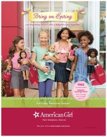 American Girl Store ad